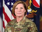 Woman leading largest Army command for 1st time