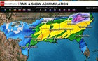 Major winter storm in southern US states